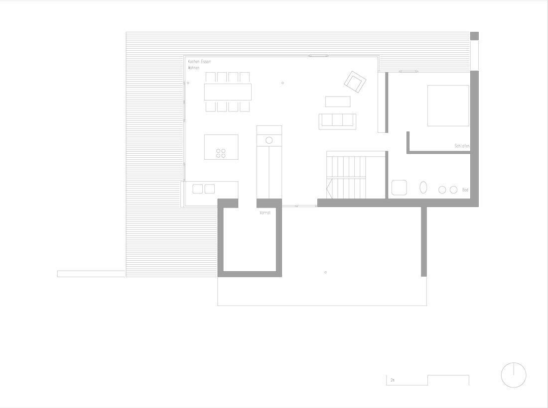 Walensee house by k m architektur housevariety - Architektur plan ...