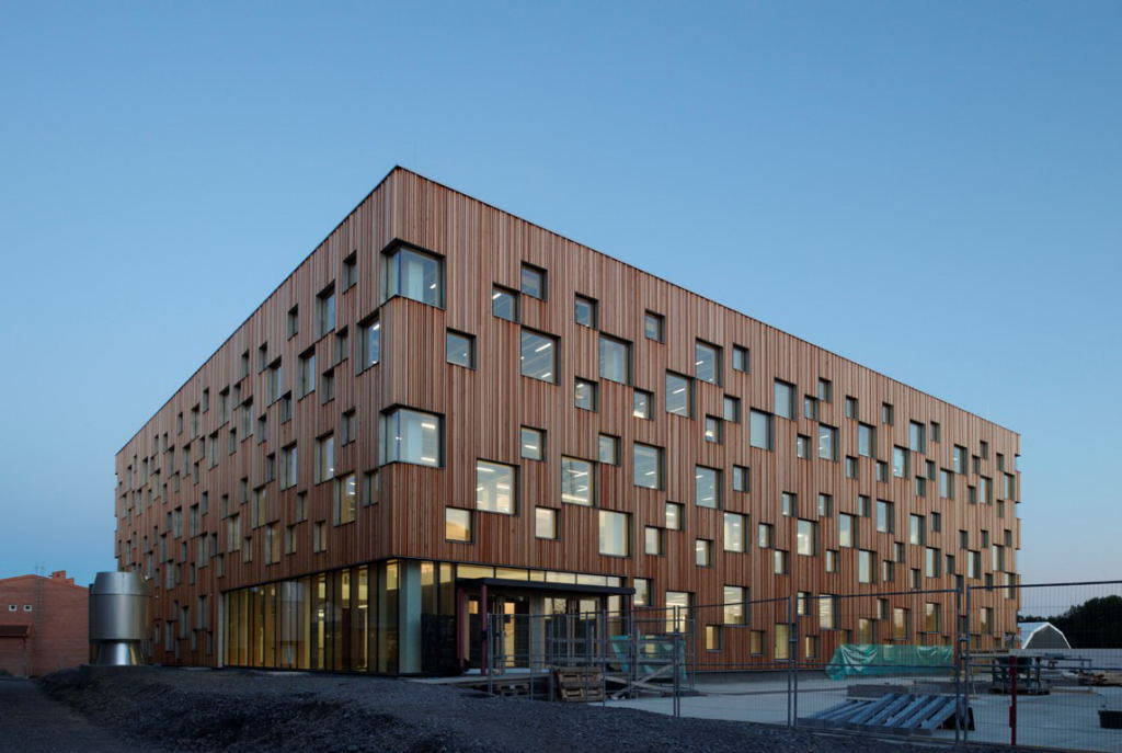 Ume School Of Architecture By Henning Larsen Architects
