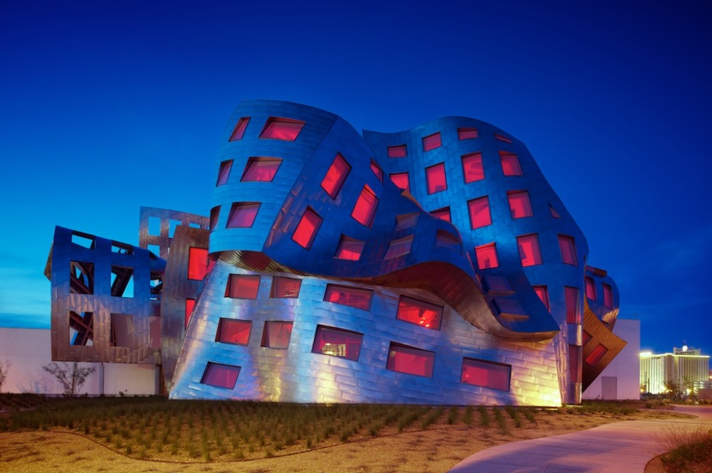 Cleveland clinic lou ruvo center for brain health by for Architecture unite alzheimer