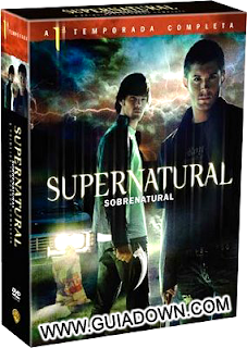 Exclusivo Supernatural/Sobrenatural Primeira Temporada RMVB Dublado