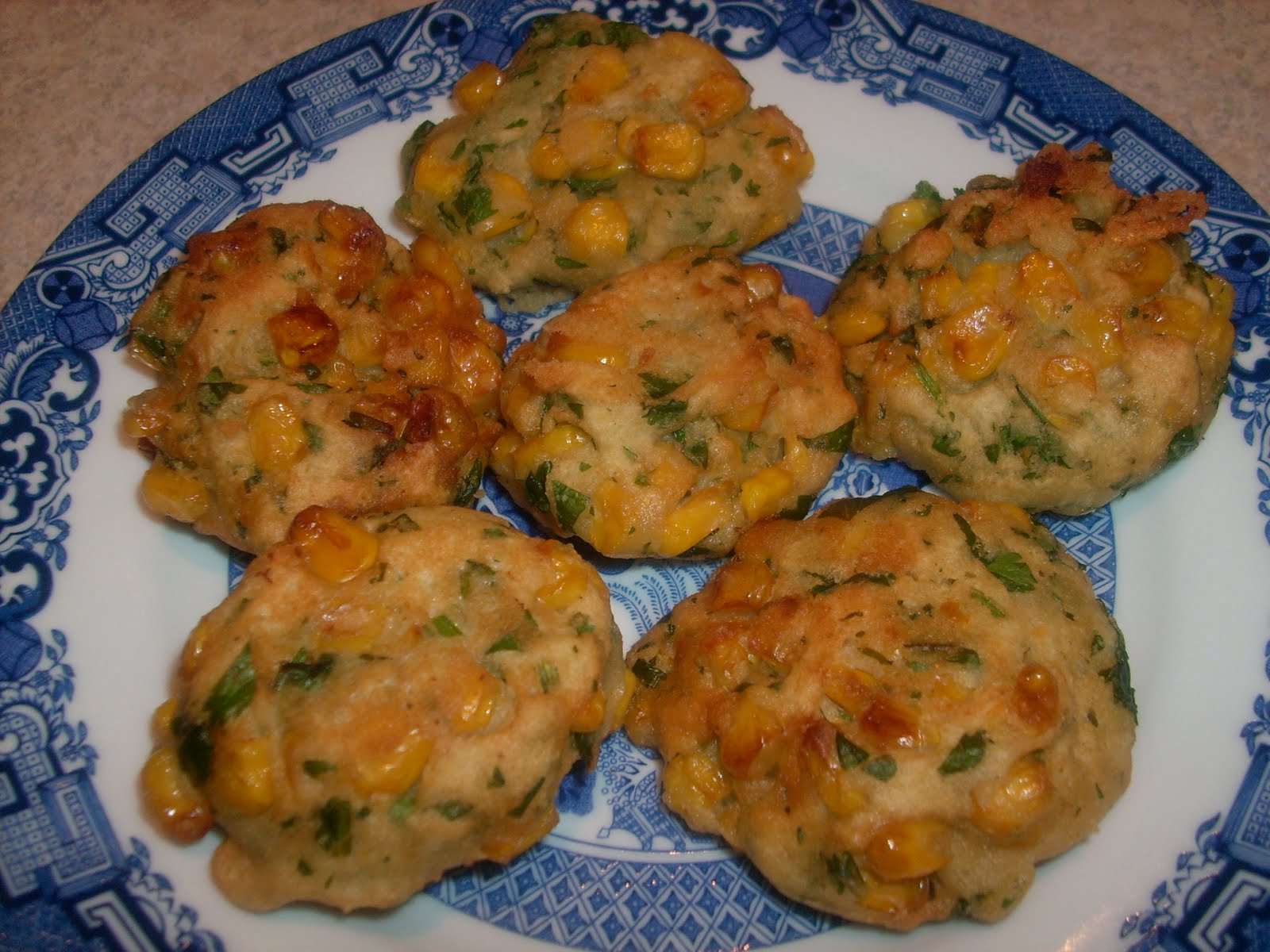 Cooking for Bliss: Thai Corn Fritters (Tod Man Khao Pohd)