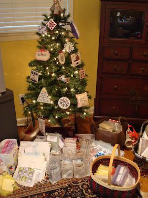 ornament exchange tree