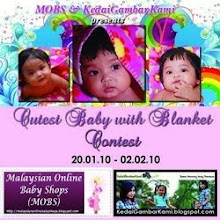 MOBS & Kedai Gambar Kami : Cutest Baby with Blanket Contest