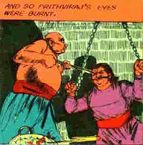 Prithviraj Chauhan Tortured