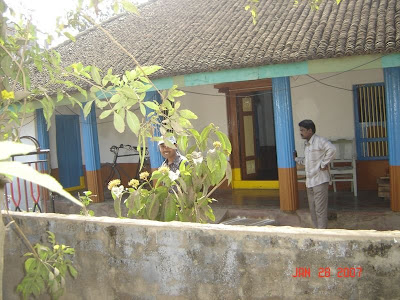 chiranjeevi house at mogaltur