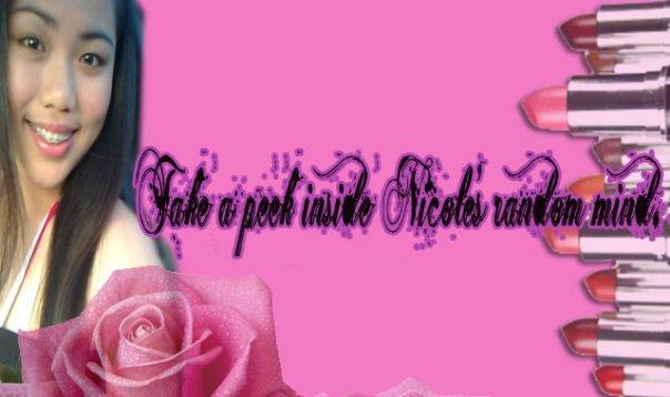 Take a peek inside Nicole's random mind. :]