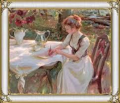 escrever é a arte de viver.