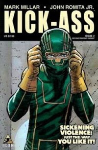 Comic book Kick-Ass adapted into a movie!