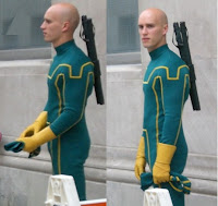 Superhero costume of Kick-Ass