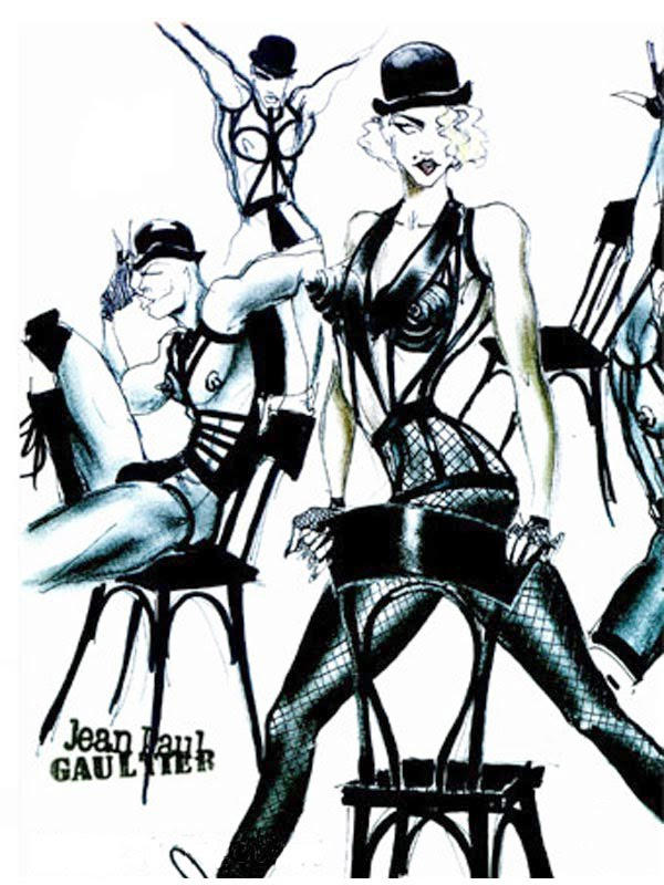 ... jean paul gaultier s design for keep it together from madonna s blond