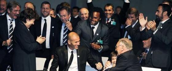 Euro 2016 : la délégation française à Genève - Crédit photo : Le Parisien