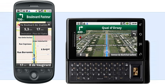 google maps navigation la solution gps gratuite pour mobile actu. Black Bedroom Furniture Sets. Home Design Ideas