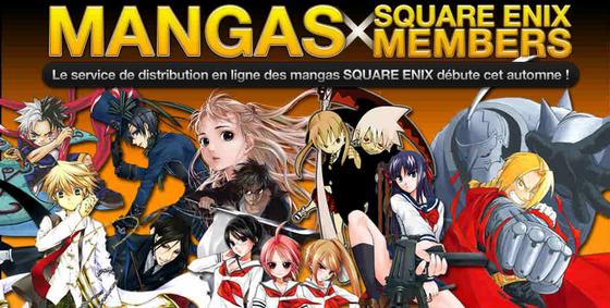 Square Enix Manga