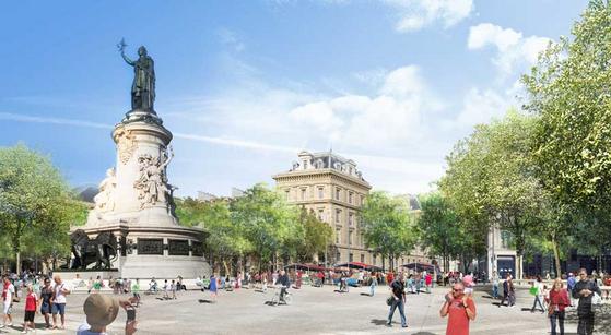 Une nouvelle Place de la République en 2013