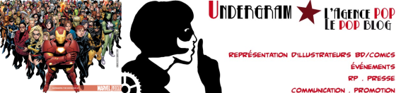 Agence Undergram - Marvel