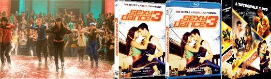 Sexy Dance 3 en DVD et Blu-ray 3D