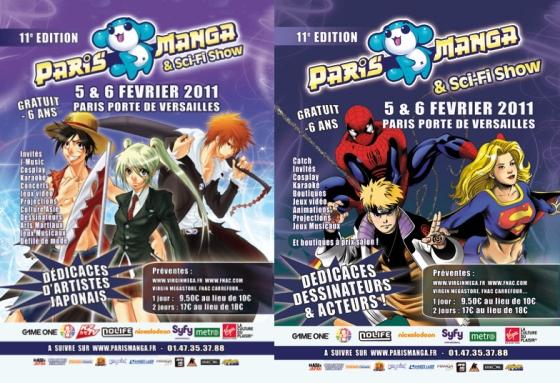 Paris Manga & Sci-Fi Show 2011