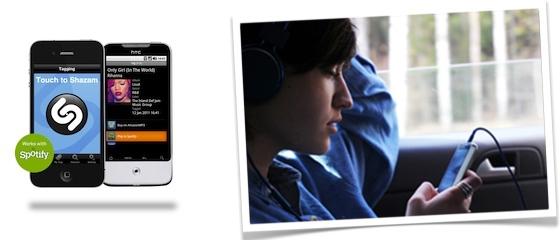 Musique en ligne : Shazam et Spotify s'unissent