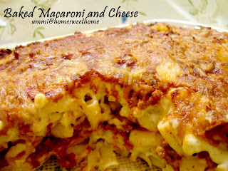 Home Sweet Home Baked Macaroni And Cheese