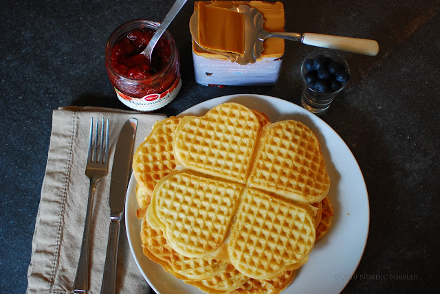 Nordic Nibbler: Rømmevafler (Sour Cream Waffles) – Recipe
