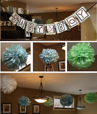 Prettyshoulders may 2009 for Baby shower decoration ideas martha stewart