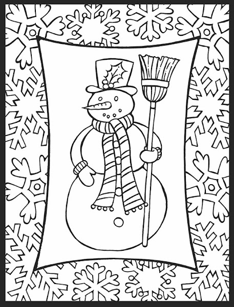 Dover Christmas Coloring Pages