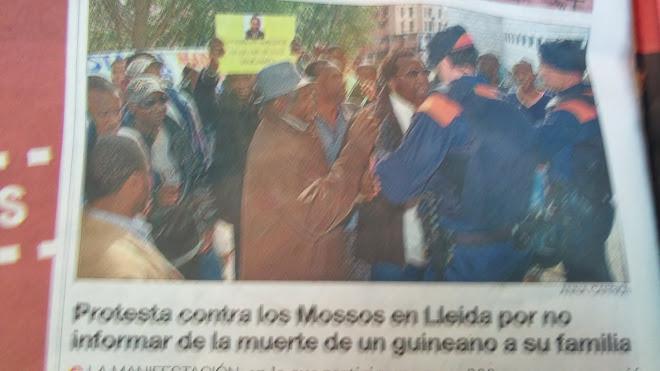 los negros de España son humanos