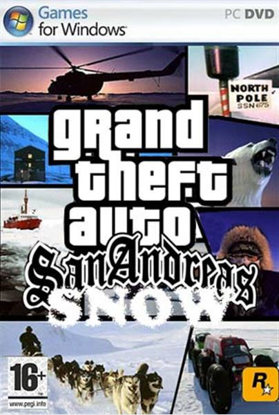 GTA San Andreas Winter 2011 | Full PC Game | 170 MB