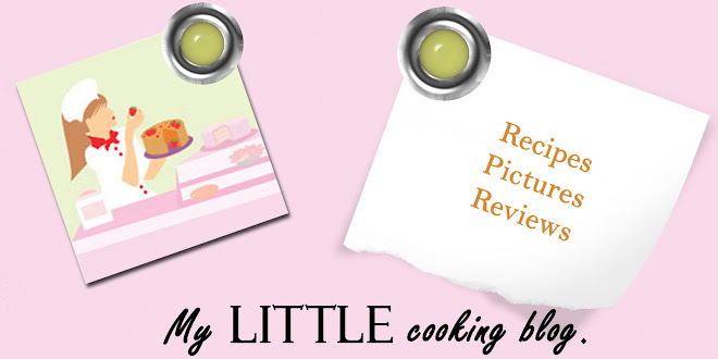 My little cooking blog