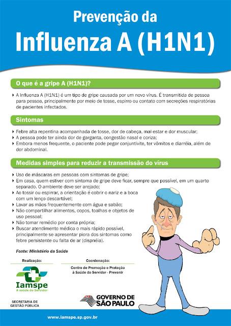Prevenção da Gripe Suína (H1N1) - Prevenção Online