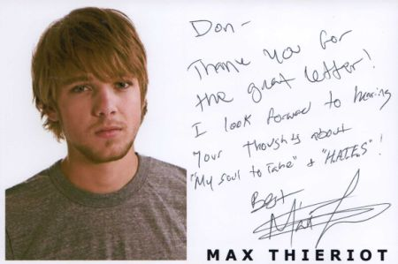 max thieriot 2011. Max Thieriot Profile Photo