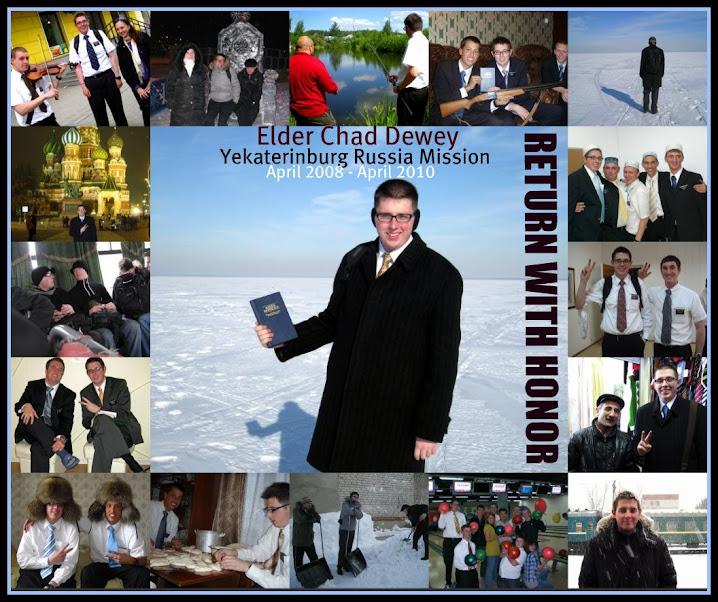 Elder Chad Dewey