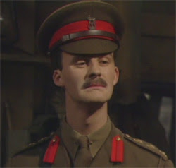 Blackadder's Captain Darling - the archetypal staff officer