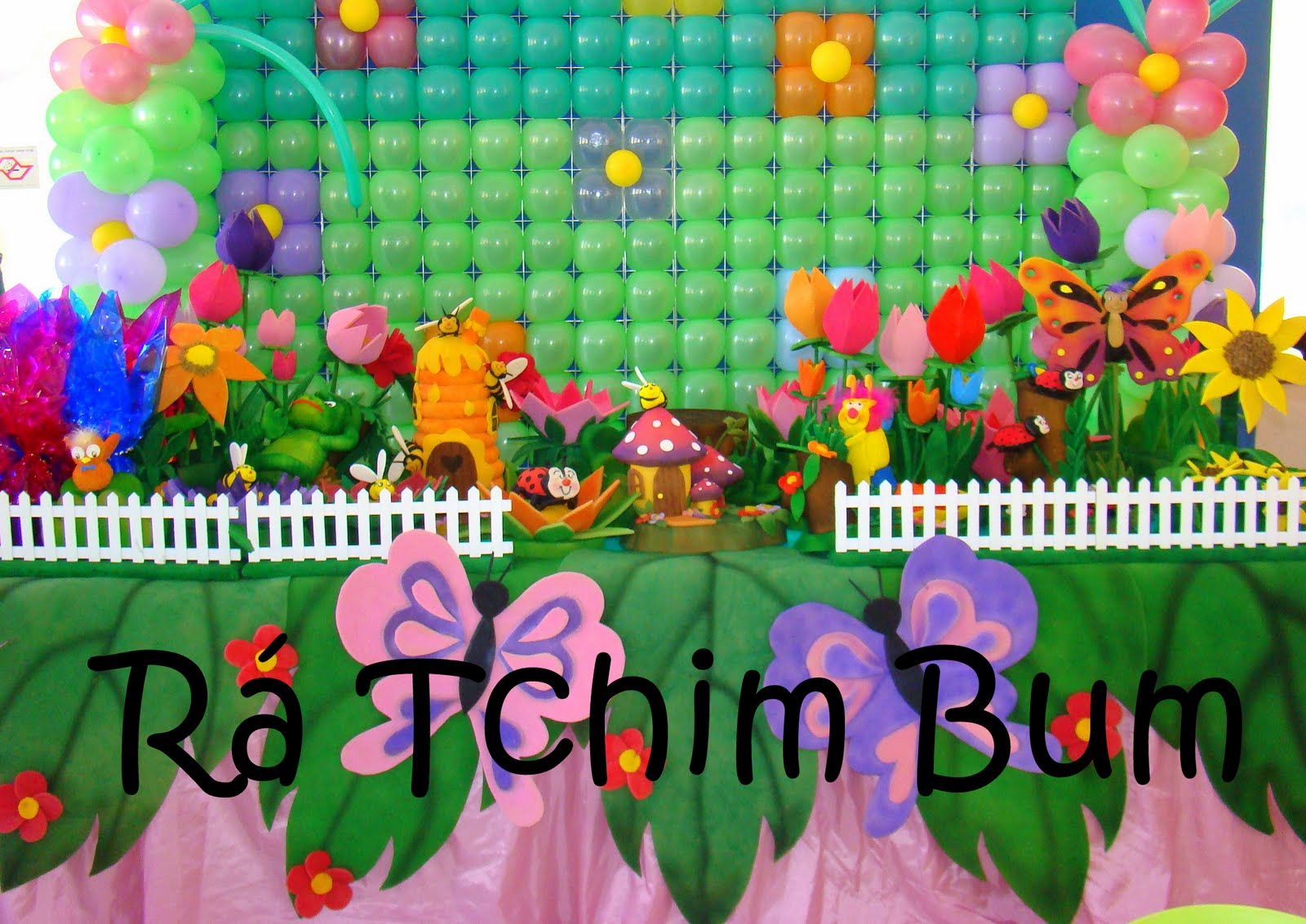 decoracao festa infantil jardim encantado joaninha:Decoracao De Festa No Jardim Infantil