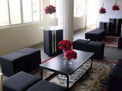 Lounge... confortável detalhe...