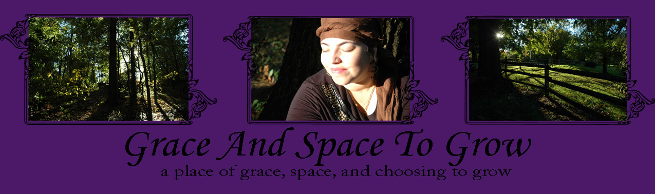 Grace And Space To Grow