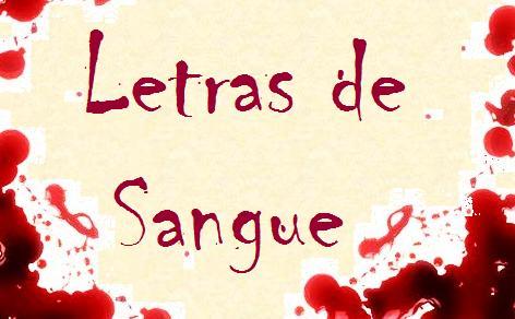 Letras de Sangue