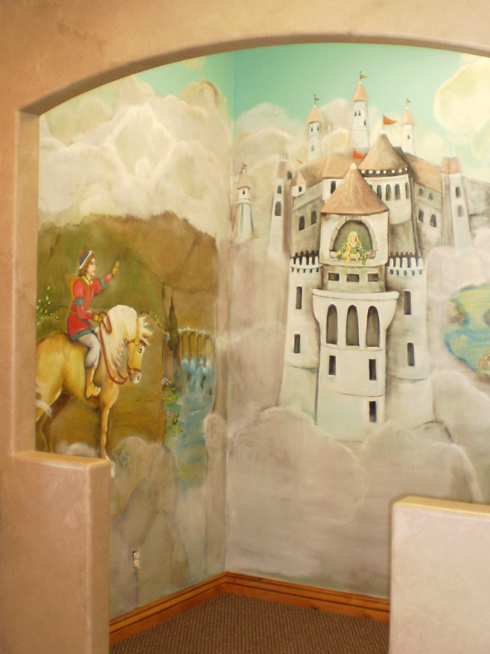 For your rooms only portfolio fairy tale mural in dentist for Fairy tale mural