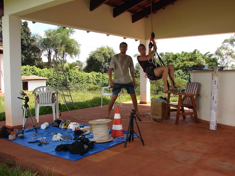 CURSO DE ESCALADA REALIZADO EM UBERLÂNDIA - DATA 31/01 E 01/02 DE 2009