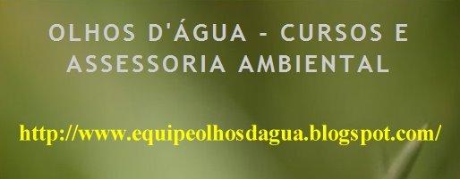 EQUIPE OLHOS D'ÁGUA ASSESSORIA AMBIENTAL