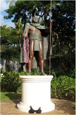 King Kamehameha and Olga the Traveling Bra