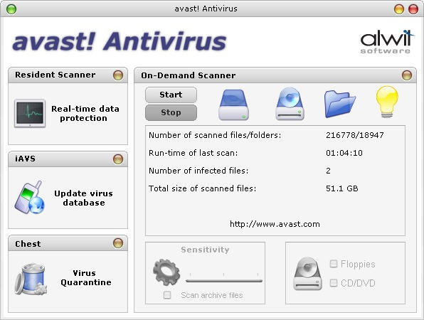 avast1 Download   avast! Antivirus 5 1 861 Pre Final + Internet Security 5 1 861 Pre Final + License for 2012