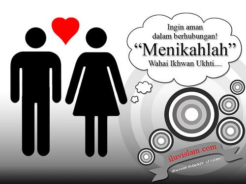 Cinta dalam islam sebenarnya tiada urusan dengan romantisme pacaran.