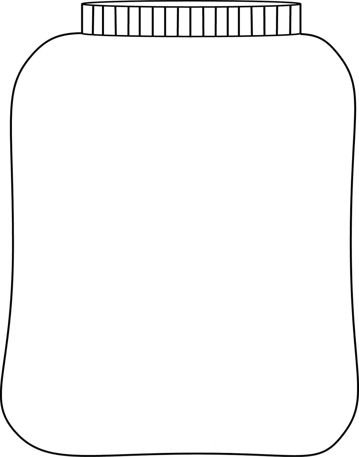 Jar+Outline Jar template for your plant project