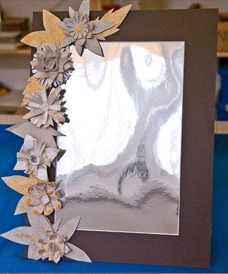 Как сделать зеркало своими руками из фольги
