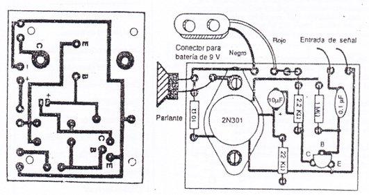 proyectos electonica 1105  amplificador de audio