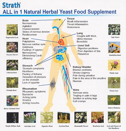 STRATH ( ALL in 1 Natural Herbal Yeast Food Supplement)