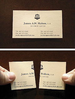 lawer business card