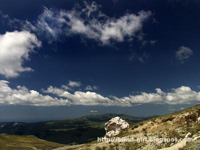 Landscape Bucegi Mountains Romania