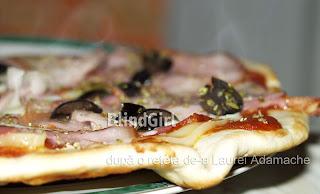 pizza rapida 8 minute la tigaie